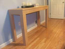 Parsons Console Table White Parson Console Table Diy Projects
