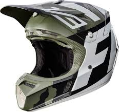 green motocross helmet 2017 fox racing v3 creo helmet motocross dirtbike offroad mens