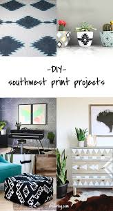 diy to try southwest print projects ohoh blog diy to try southwest print projects