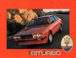 1990 maserati biturbo maserati biturbo 2500 coupé