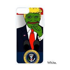 Phone Case Meme - america american president sad frog trump doing speech funny