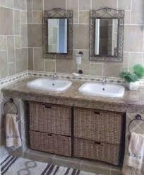 Build Your Own Bathroom Vanity Cabinet Making Your Own Rustic Vanity Bathroom Pinterest Making A