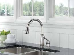 delta leland pull kitchen faucet delta 978 ss dst leland single handle pull kitchen faucet