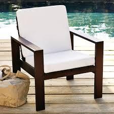 Armchair Cushion Outdoor Armchair Cushions West Elm