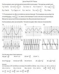 this free handout has eight basic trigonometric functions to graph