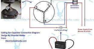 hampton bay ceiling fan capacitor wiring diagram ewiring