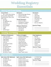 what to put on bridal shower registry crafting the bridal registry wedding registry checklist