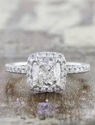 cushion engagement rings janie diamond cushion cut halo diamond engagement ring ken