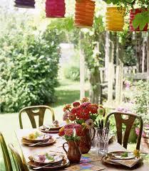 Summer Entertaining Ideas - outdoor party decorations summer party decorating ideas