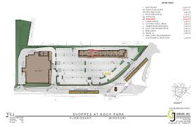 Kfc Floor Plan by Shoppes At Koch Park U2022 Gj Grewe
