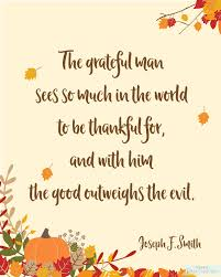 free thanksgiving printables quote