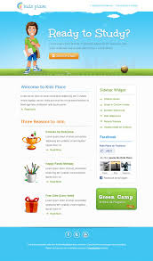 kids newsletter template made especially for businesses related to