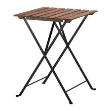 outdoor foldable dining table metal and wood lazada malaysia