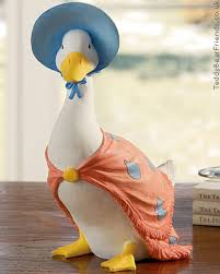 jemima puddle duck ornament border arts teddy friends