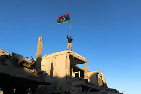 Lybian Flag Libya Says Oil Sector Open Again For Business Wsj