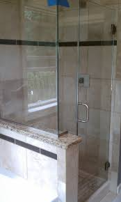 economy glass frameless showers