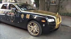 roll royce fenice gold black rolls royce ghost youtube