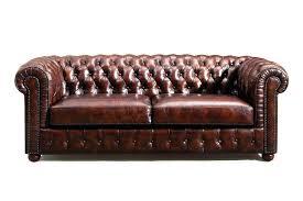 canapé chesterfield vintage design d intérieur canape chesterfield cuir canapac en marron