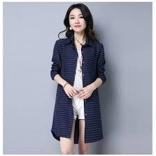 new korean large size women loose long sleeve blouse lady
