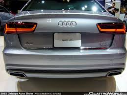slammed audi a6 equipping the audi worthy garage at the chicago auto show