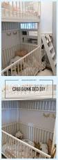 Bunk Bed With Cot They U0027re Never Too Young To Sleep In Bunkbeds Small Rooms Bunk