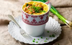 one minute microwave quiche in a mug recipe by hannah hoskins