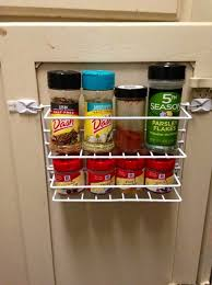 Spice Rack Door Mounted Pantry How To Create A Door Mounted Spice Rack For 1 00 Snapguide
