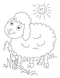 sheep coloring pages to excite kids lazarus and the rich man