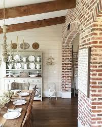 brick wall design create an elegant statement with a white brick wall interior