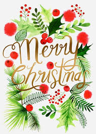 margaret berg art illustration holiday christmas christmas