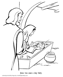 religious christmas bible coloring pages baby jesus coloring