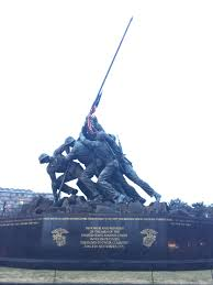 Soldiers Lifting Flag Day 4 The Marine Corps War Memorial U2013 Aka Iwo Jima Memorial