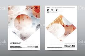 brochure layout template flyer design vector magazine booklet
