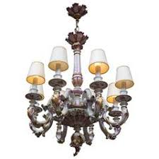 Italian Porcelain Chandelier Capo Di Monte Chandeliers And Pendants 4 For Sale At 1stdibs