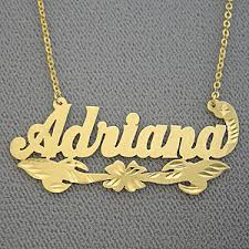 brand name necklace images Name necklace adriana personalized jewerly gold jpg