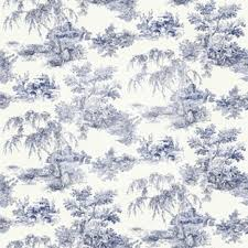 images of blue toile wallpaper sc