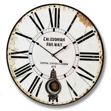 swiss railway wall clock home design ideas