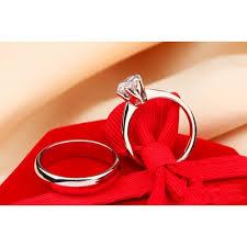 buy online rings images Buy diamond couple white gold ring online in pakistan buyon pk jpg