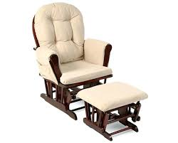 reclining glider rocking nursery chair and footstool so comfy