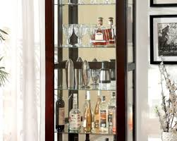 Corner Curio Cabinets Walmart by Attractive Impression Cabinet Glass Doors Inserts At Cabinet Pulls