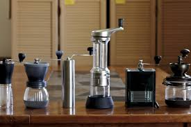 Coffee Makers With Grinders Built In Reviews Gadget Review Six Of The Best Hand Coffee Grinders Eater