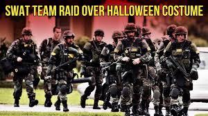 Swat Team Halloween Costume Swat Team Raid Halloween Costume