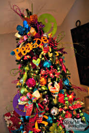 show me a tree home tour tree decorations bright