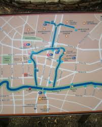 Chicago Riverwalk Map by San Antonio Conservation Society Time Tells