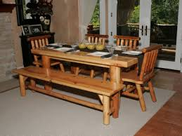 Rustic Kitchen Tables Kitchen Table Bench Home Design Ideas