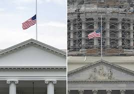 Why Are The Flags Flying Half Mast A Sign Of Death U0027 Not Division The Bloody History Behind Lowering