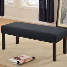 Home Decorators Bench Fabric Upholstered Entryway Bench Classic Home Decorators Ebay