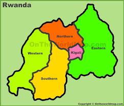Rwanda Africa Map by Rwanda Maps Maps Of Rwanda