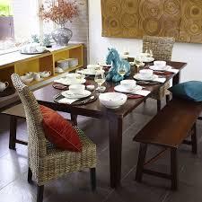 Torrance Dining Table Torrance 84 Mahogany Brown Dining Table Farmhouse Table Room