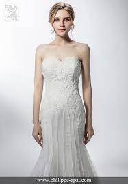 robe de mari e sirene robes de mariée 2018 collection philippe apat modèles mariage soie